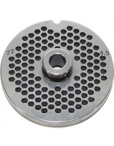 reber Grille inox 4,5mm pour hachoir reber n°22 reber