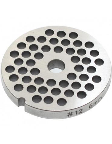 reber Grille inox 6mm pour hachoir reber n°12 reber