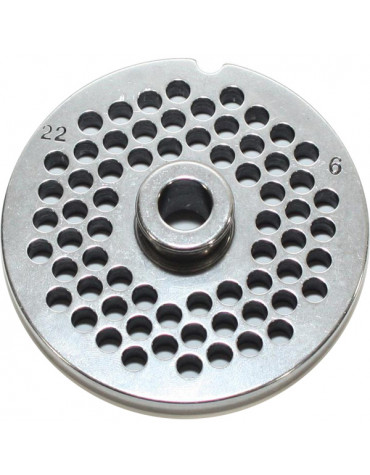 reber Grille inox 6mm pour hachoir reber n°22 reber