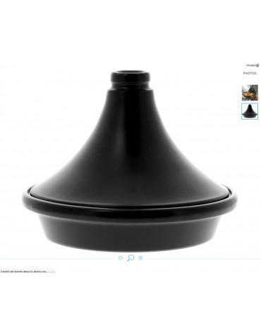 Tajine céramique 32cm noir