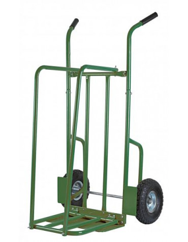 ribiland Chariot à bûches roues gonflables charge 250kg ribiland