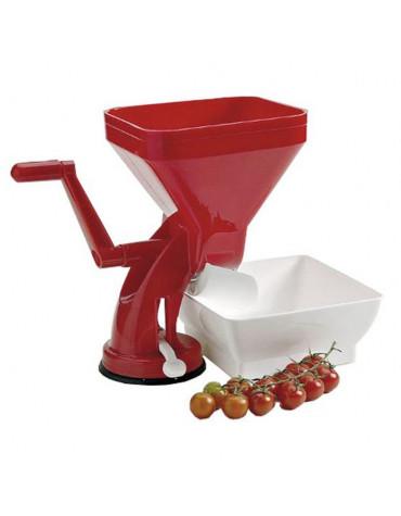 Presse tomates manuel avec bac