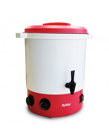Stérilisateur électrique avec robinet et minuteur 28l 2100w plastique