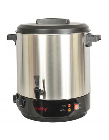 robby Stérilisateur électrique avec robinet et minuteur 31l 2100w inox robby