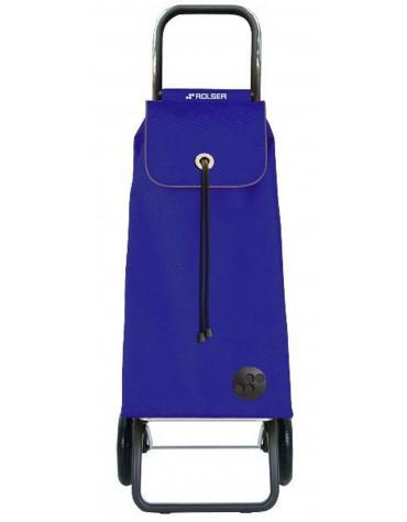 rolser Poussette de marché 2 roues 43l bleu rolser