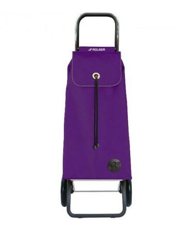 Poussette de marché 2 roues 43l lilas