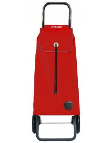 Poussette de marché 2 roues 43l rouge