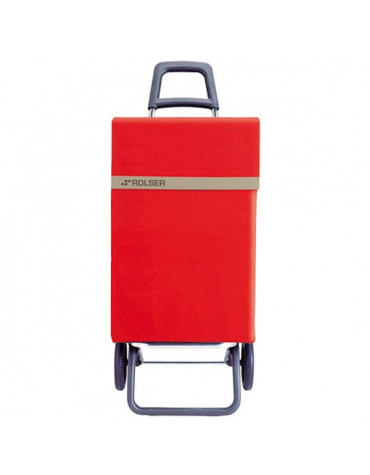 rolser Poussette de marché 2 roues 48l rouge rolser