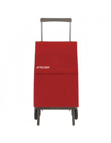 rolser Poussette de marché pliante 2 roues 45l rouge rolser