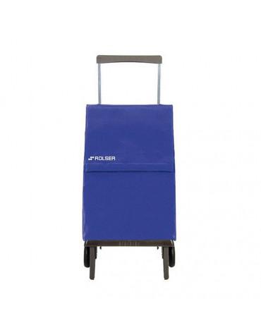 rolser Poussette pliante 2 roues 45l bleu rolser