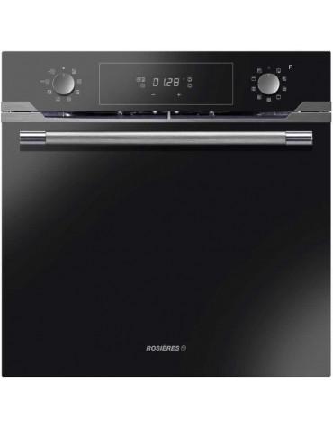 Four intégrable multifonction 70l 60cm a pyrolyse noir/inox