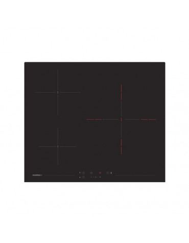 Table de cuisson vitrocéramique 60cm 3 foyer 5600w noir