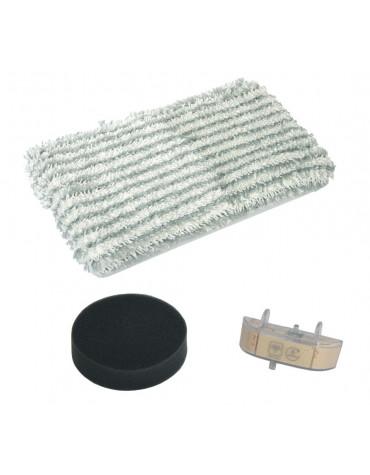 rowenta Kit de remplacement pour aspirateur balai clean & steam rowenta