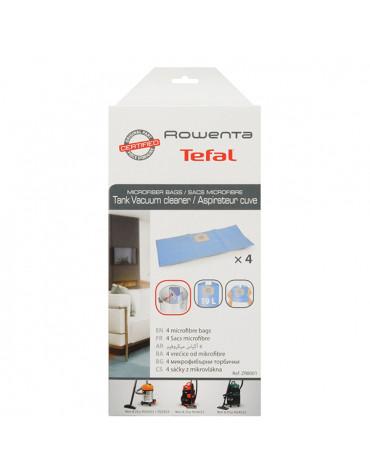 rowenta Lot de 4 sacs microfibre pour aspirateur cuve rowenta