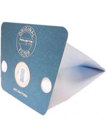rowenta Lot de 6 sacs antibactérien pour aspirateur néo et soam rowenta