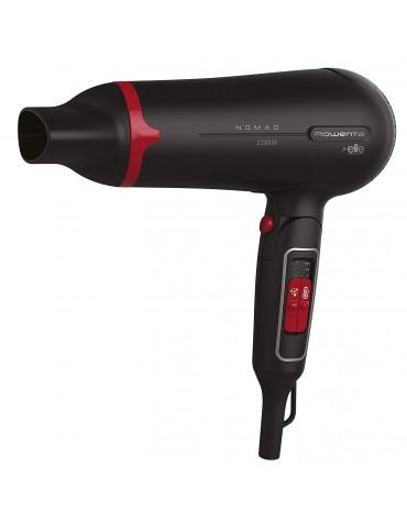 Sèche-cheveux 2200w noir/rouge