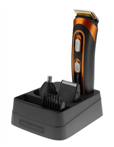 Tondeuse à barbe rechargeable noir/orange