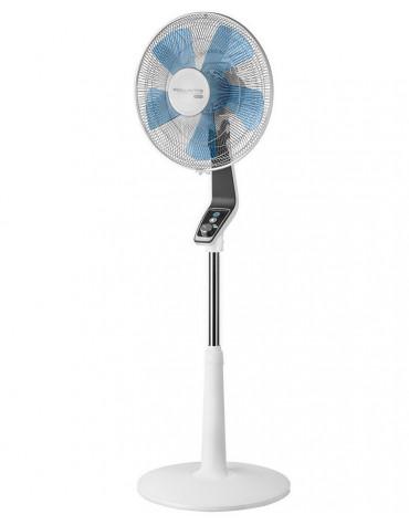rowenta Ventilateur sur pied 40cm 70w blanc/bleu rowenta