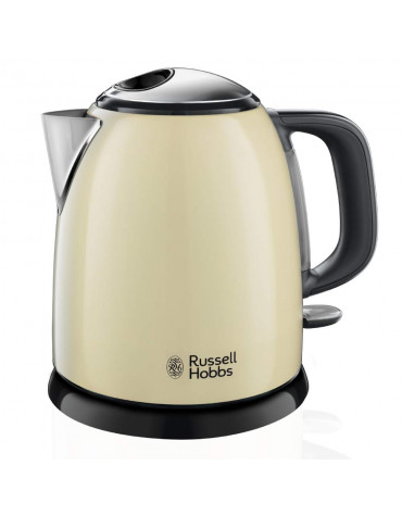 russell hobbs Bouilloire sans fil 1l 2400w crème russell hobbs