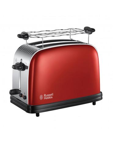 Grille-pain 2 fentes 1670w rouge flamboyant