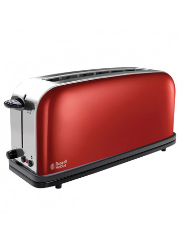 Grille-pains 1 fente 1000w rouge
