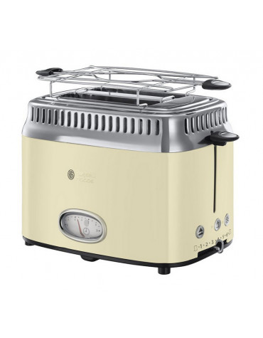 russell hobbs Grille-pains 2 fentes 1300w crème russell hobbs