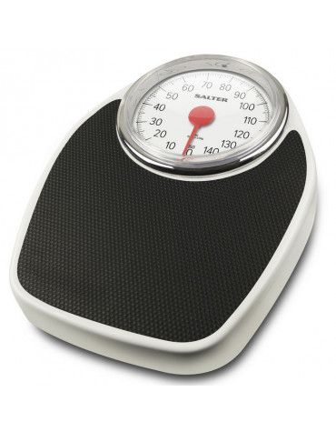 Pèse-personne mécanique 150kg 500g noir