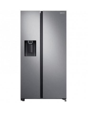 Réfrigérateur américain 92cm 617l a+ no frost inox