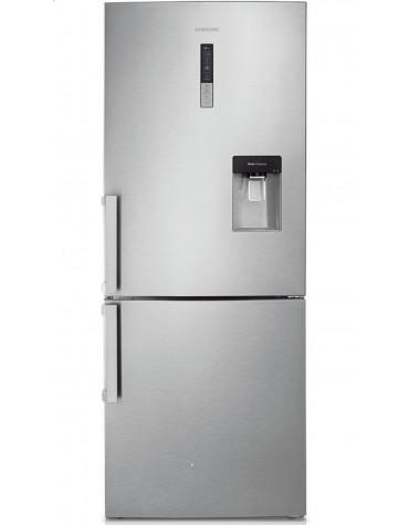samsung Réfrigérateur combiné 70cm 432l a++ ventilé inox samsung