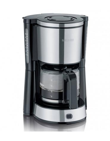 severin Cafetière filtre 10 tasses 1000w noir/inox severin