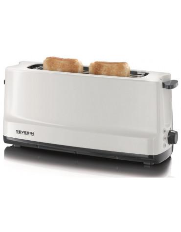 Grille-pains 1 fentes 800w gris/blanc