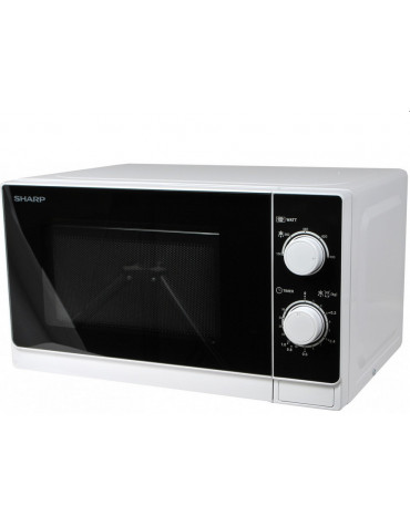 sharp Micro-ondes 20l 800w blanc sharp