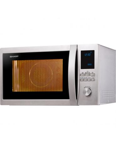 sharp Micro-ondes grill et chaleur tournante 32l 1000w inox sharp