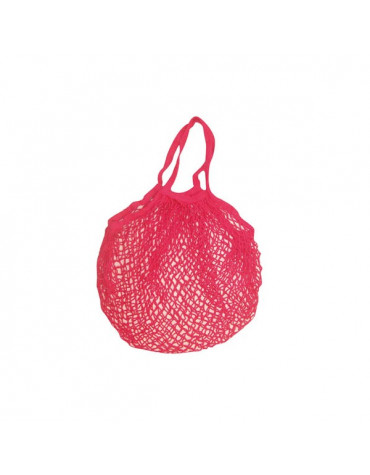 sidebag Filet à provisions coton rouge sidebag