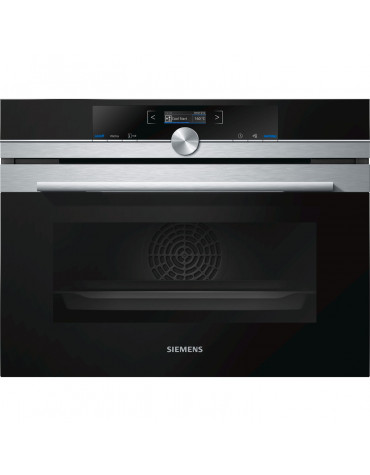 siemens Four intégrable compact 47l a+ pyrolyse inox siemens