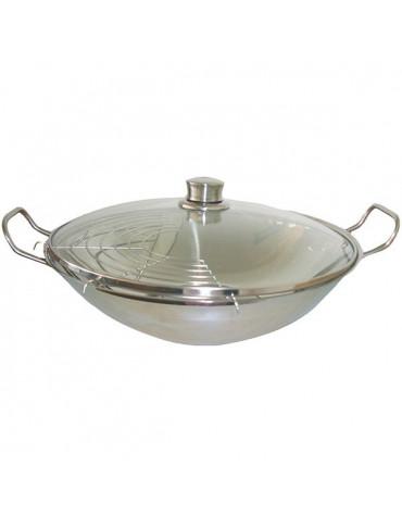 siemens Wok avec couvercle verre siemens