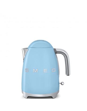 smeg Bouilloire sans fil 1.7l 2400w bleu azur smeg