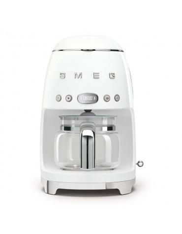 Cafetière filtre programmable 10 tasses 1050w blanc