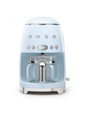 Cafetière filtre programmable 10 tasses 1050w bleu azur