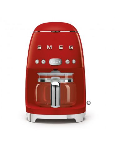 Cafetière filtre programmable 10 tasses 1050w rouge