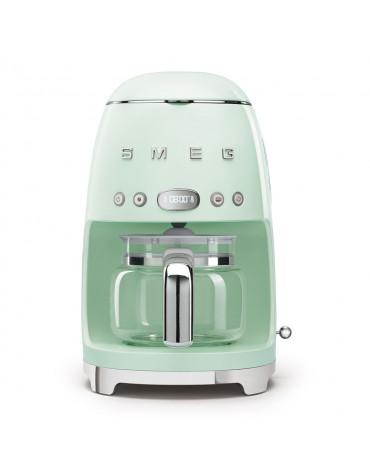 Cafetière filtre programmable 10 tasses 1050w vert d'eau