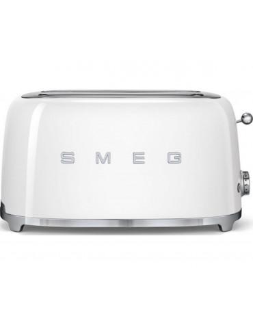 smeg Grille-pain 2 fentes 1500w blanc smeg