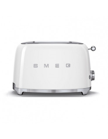 smeg Grille-pain 2 fentes 950w blanc smeg