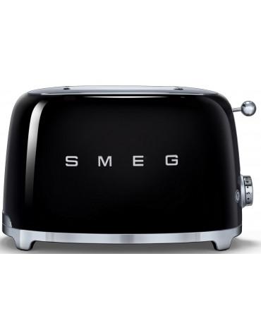smeg Grille-pain 2 fentes 950w noir smeg