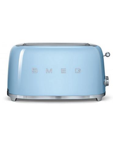 smeg Grille-pains 2 fentes 1500w bleu azur smeg