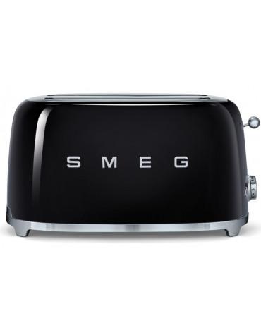 smeg Grille-pains 2 fentes 1500w noir smeg
