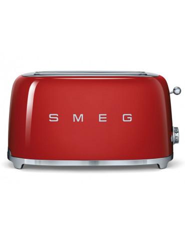 smeg Grille-pains 2 fentes 1500w rouge smeg