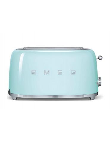 smeg Grille-pains 2 fentes 1500w vert d'eau smeg