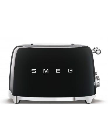 smeg Grille-pains 4 fentes 950w noir smeg
