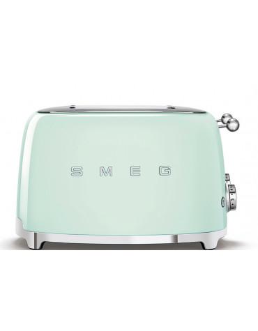 smeg Grille-pains 4 fentes 950w vert d'eau smeg